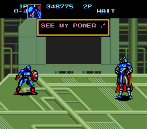 Captain America and the Avengers (Europe)-90