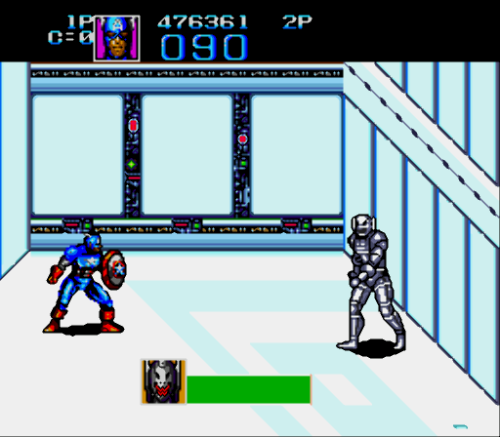 Captain America and the Avengers (Europe)-98