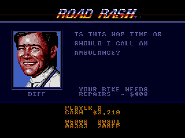Road Rash (USA, Europe)019